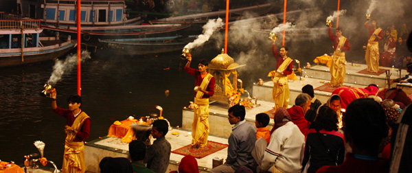 Evening Ganga Aarti Boat Rode