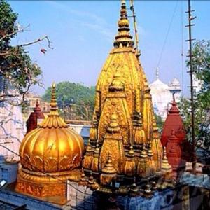 Lord Shiva Kashi Vishwanath Temple Varanasi India