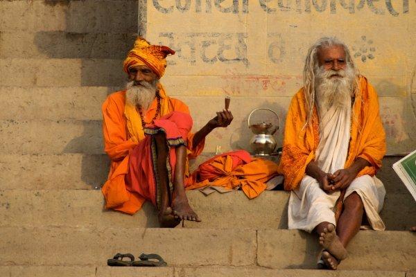 Sadhu At River Ganga